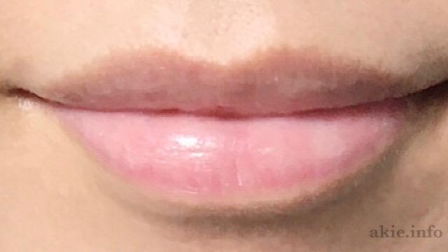 リリースバイタッチリップマスクをつけた唇の画像