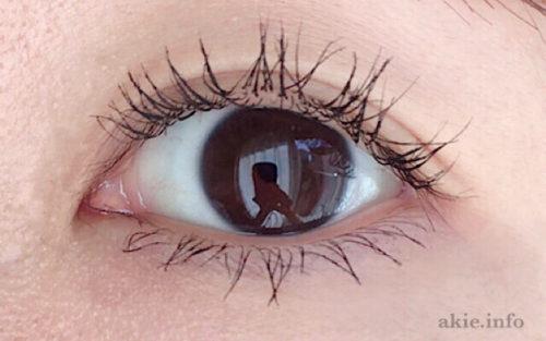 ラッシュニスタNをつけた目の画像