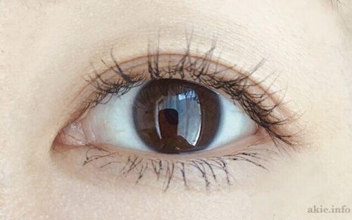 ラッシュニスタオイリシャスえおつけた目の画像