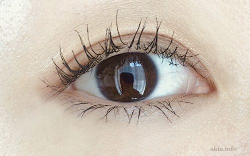 ラッシュニスタウォータープルーフをつけた目の画像