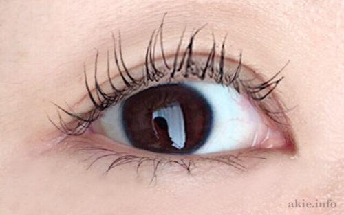 ラッシュニスタケアプラスをつけた目の画像