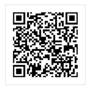 アンジェリールのライン公式アカウントのQRコード
