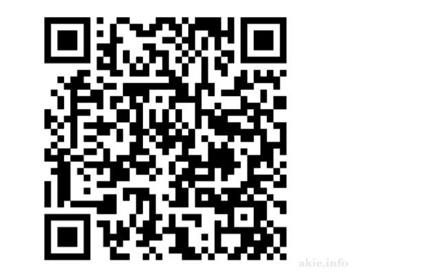 マジカルシェリー公式サイトのQRコード画像