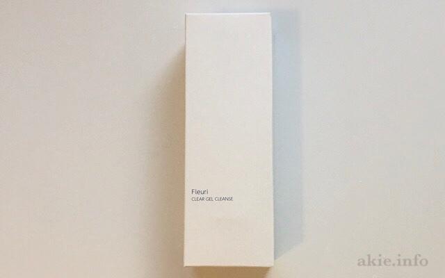 フルリクリアゲルクレンズが入っている箱の画像